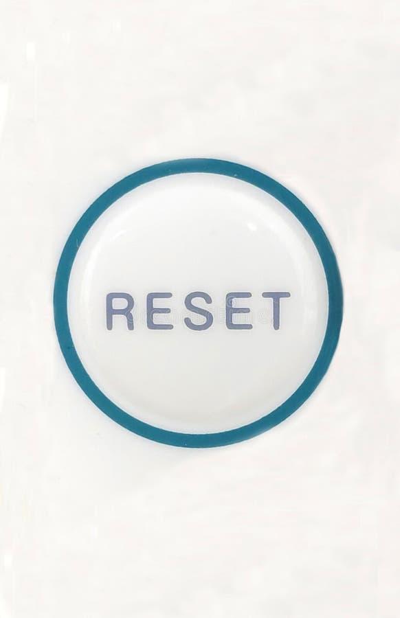 Botón de reinicio imagen de archivo libre de regalías
