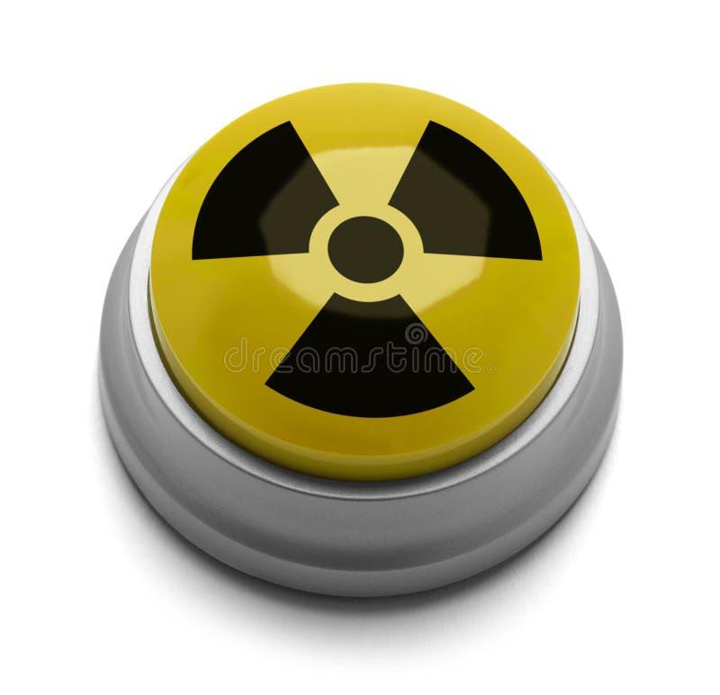 Botón del arma nuclear fotos de archivo