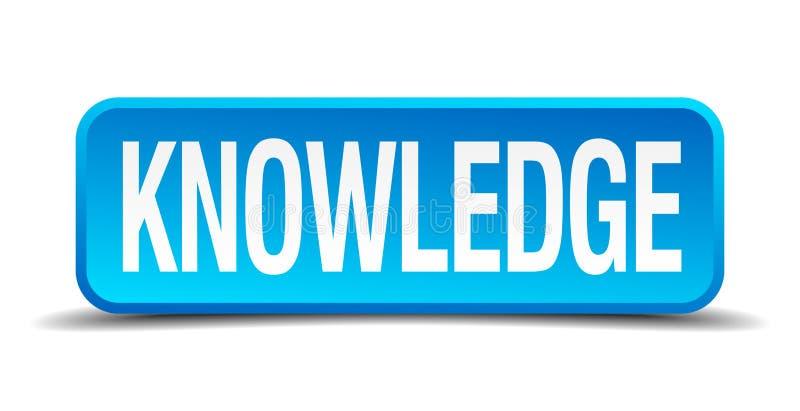 botón del conocimiento stock de ilustración