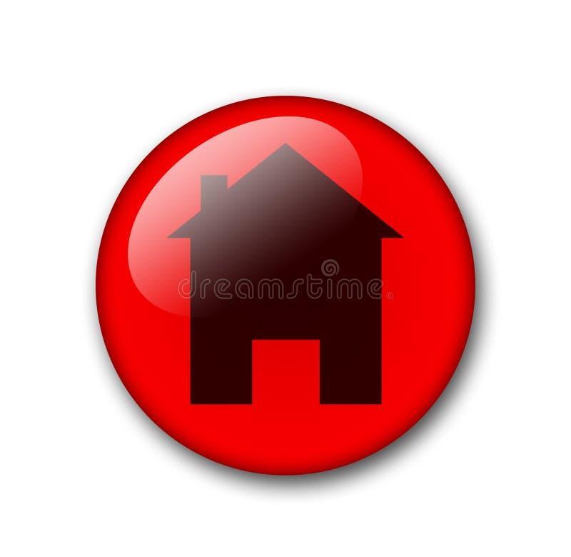 Botón Del Web Foto de archivo