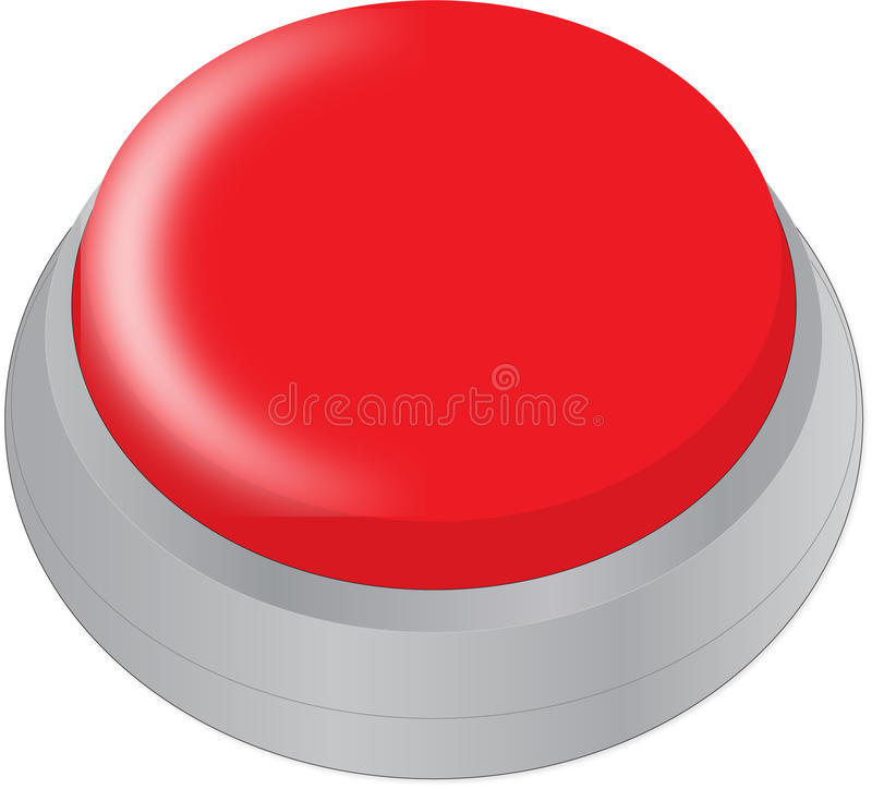 Botón fácil ilustración del vector