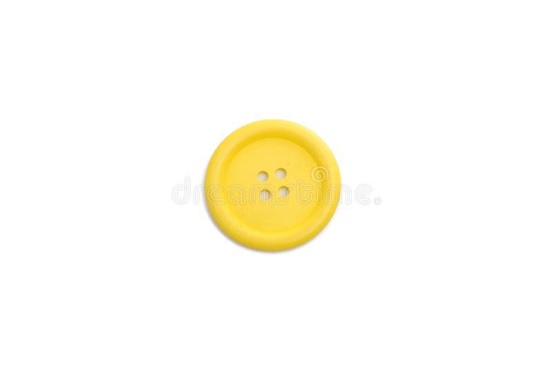 Botón para clothmaking aislado fotografía de archivo