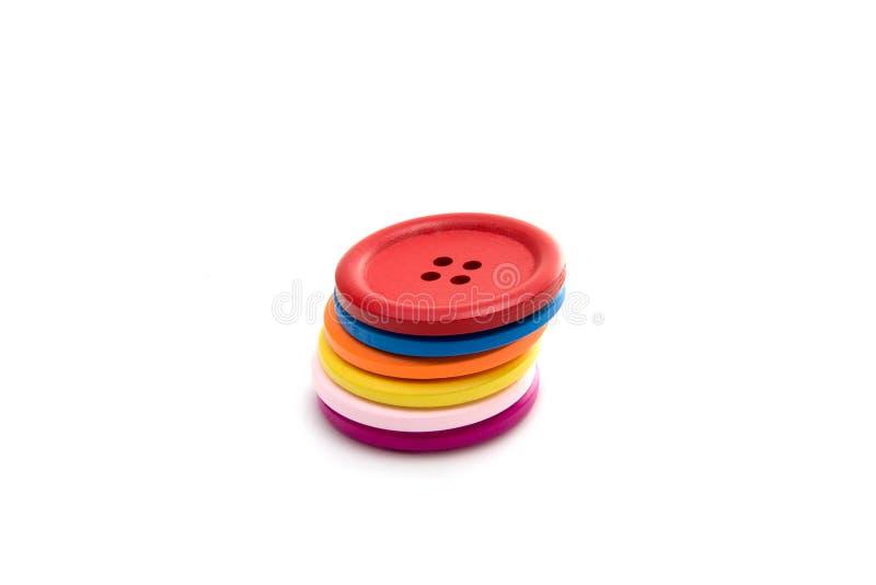 Botón para clothmaking aislado fotografía de archivo libre de regalías