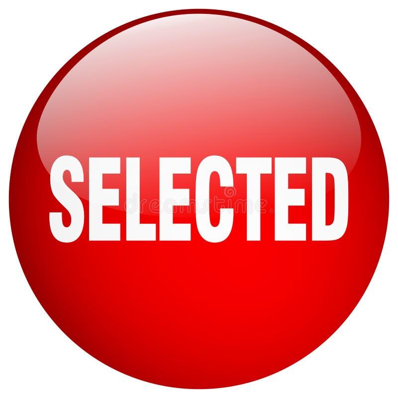 botón seleccionado stock de ilustración