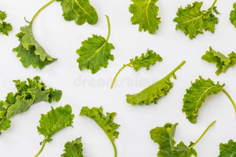 Botões da couve da couve Salada com um aspecto rústico e saudável foto de stock