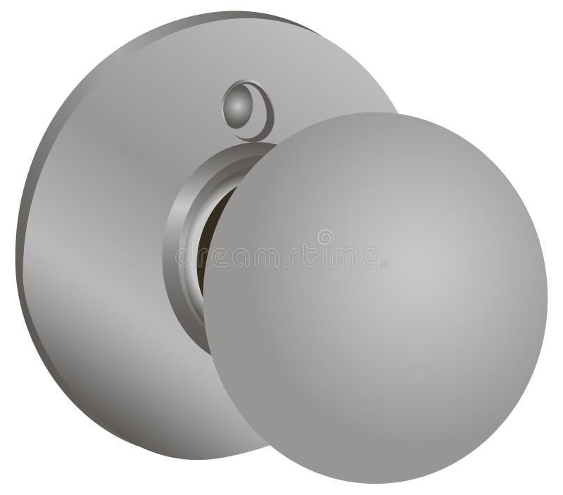 Botões de porta ilustração do vetor