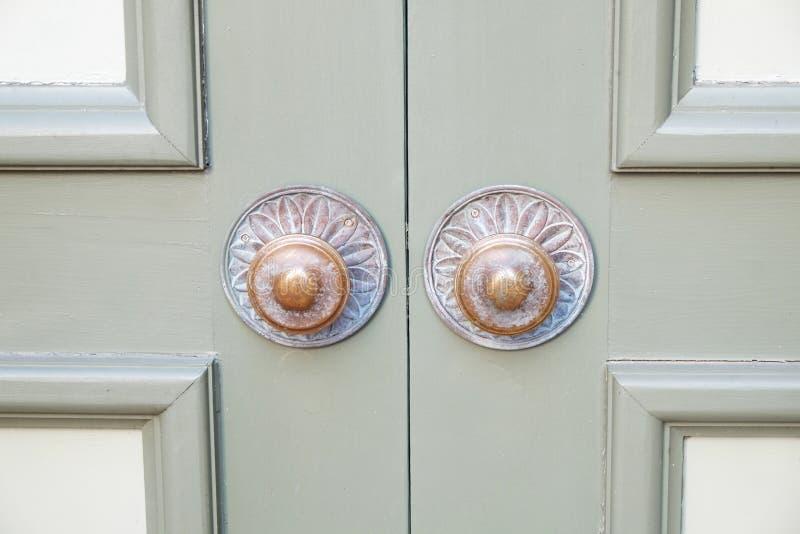 Botões de porta foto de stock