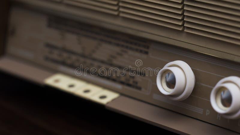 Botões de rádio do vintage imagens de stock royalty free