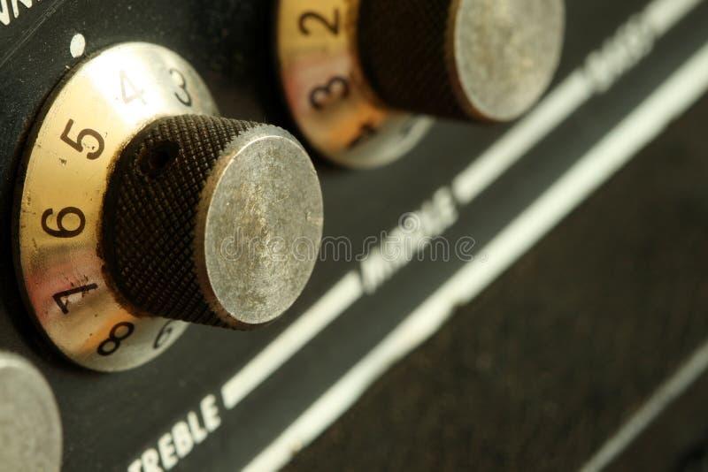 Botões obscuros do vintage fotografia de stock