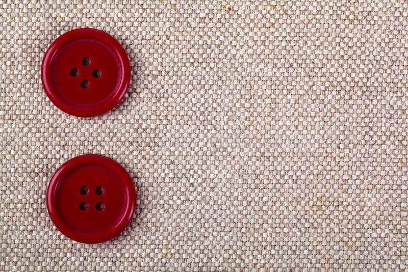 Botões vermelhos fotos de stock