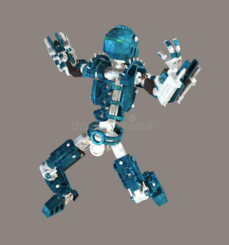 Bot stock de ilustración