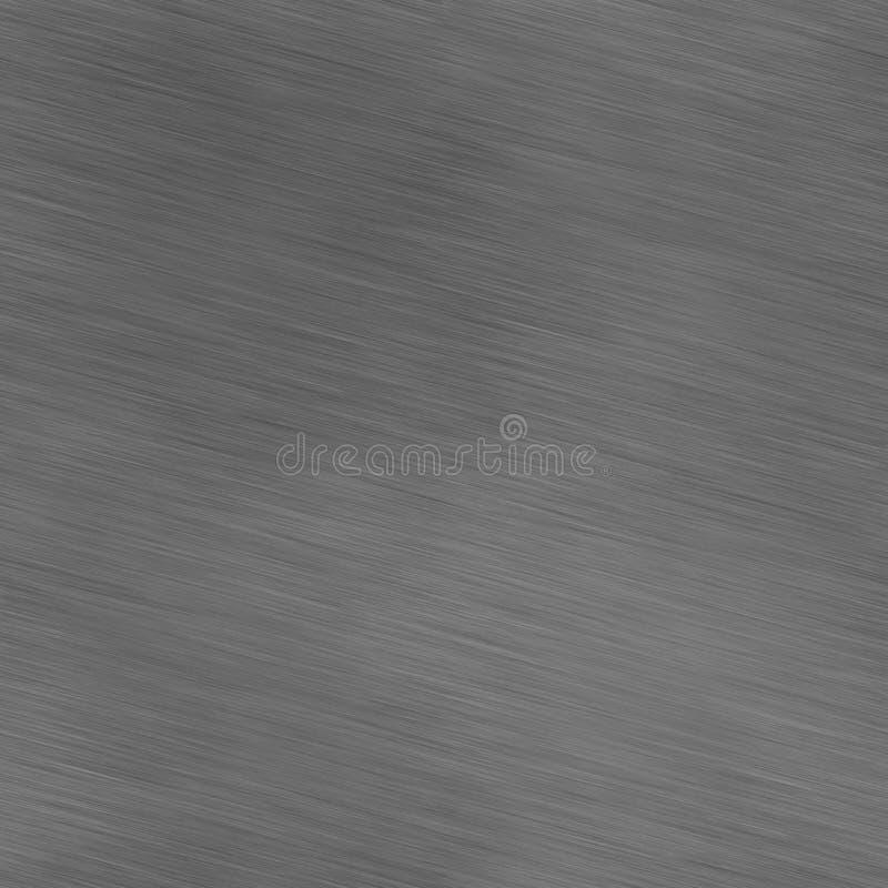 Bot borstat polerat aluminum rostfritt stål arkivbild