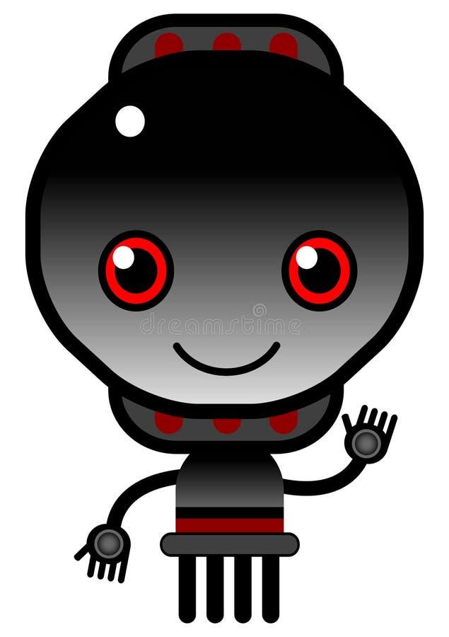 Download Bot PRETO ilustração do vetor. Ilustração de símbolo - 10063015