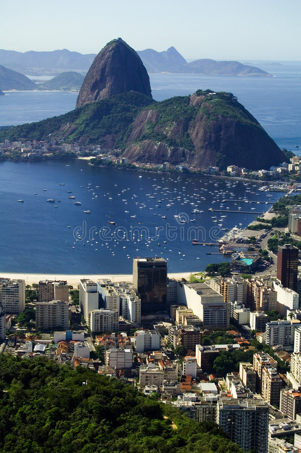 Download Botafogo Bay stock photo. Image of america, trouristic - 700350