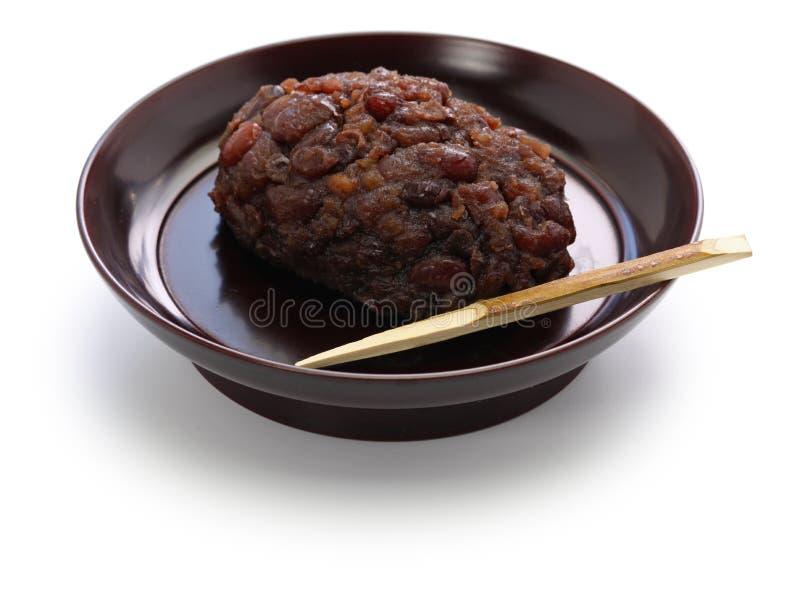 Botamochi d'Ohagi, nourriture sacrée japonaise traditionnelle image stock