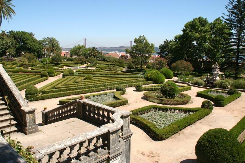 Botancial庭院-里斯本 库存照片