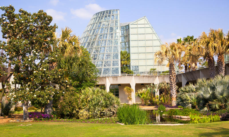Botanic Garden. In San Antonio, Texas royalty free stock photography