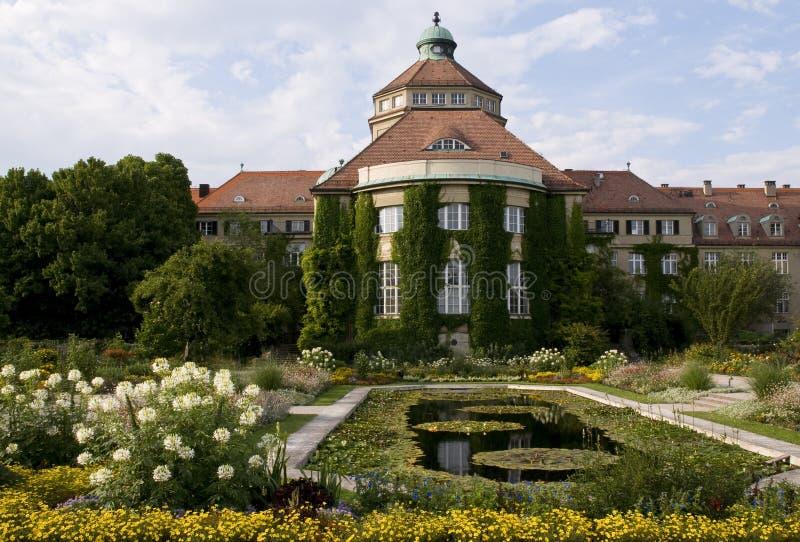 Botanic garden-munich royalty free stock photography