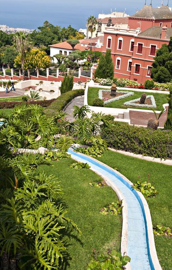 Botanic gardens stock photography