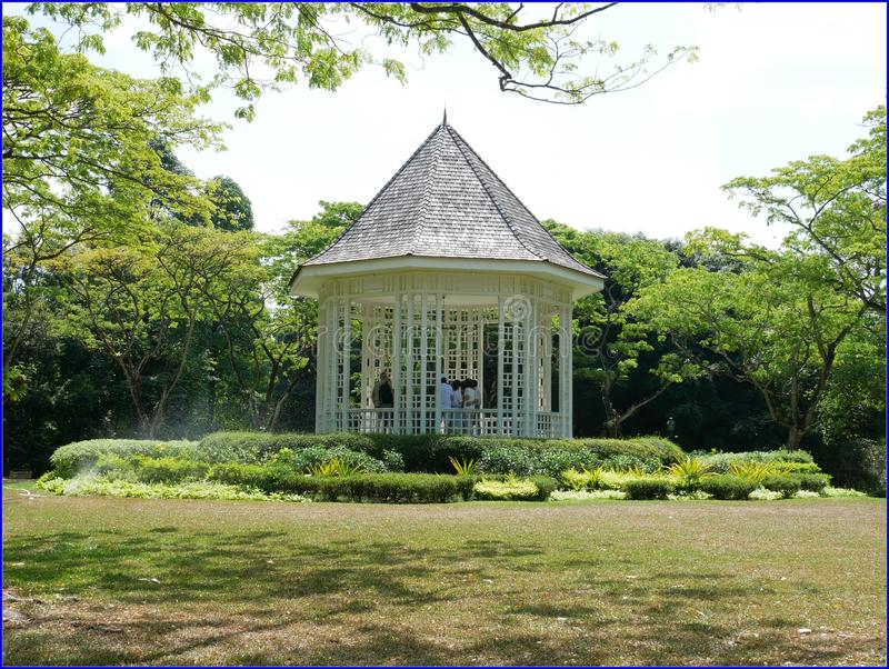 Botanic Gardens - Band Stand Free Public Domain Cc0 Image