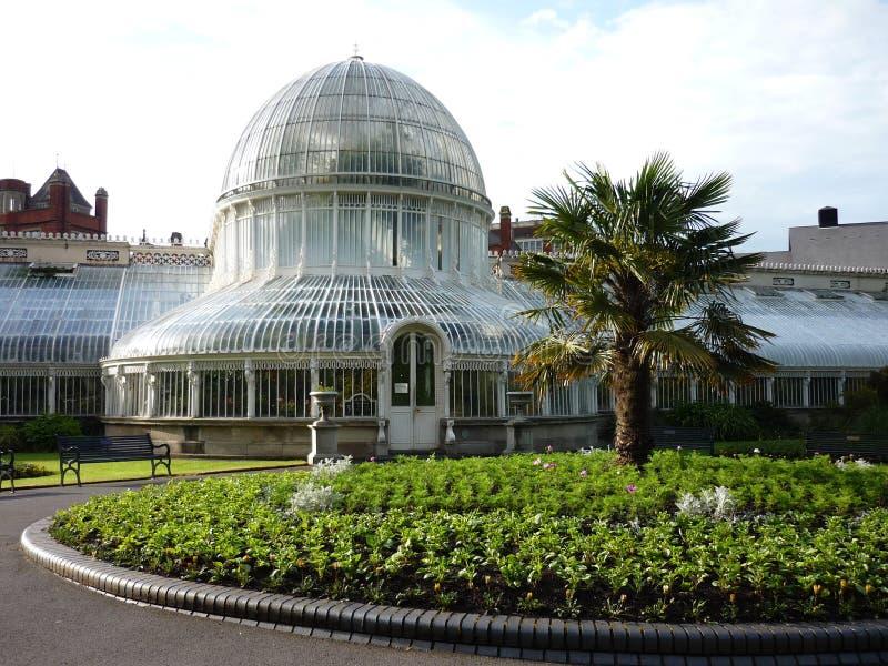 Botanic Gardens in Belfast, Northern Ireland stock photography