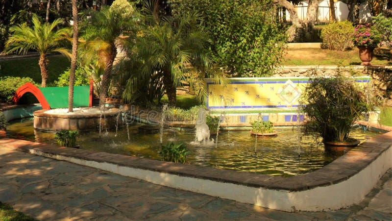 Botanic Park-Molino del Inca - Andalusia royalty-vrije stock foto