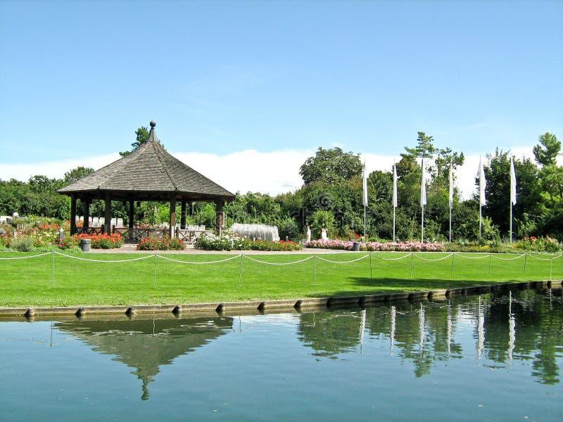 Botanical garden, Augsburg, Germany. The Botanical Garden in Augsburg, Bavaria royalty free stock image