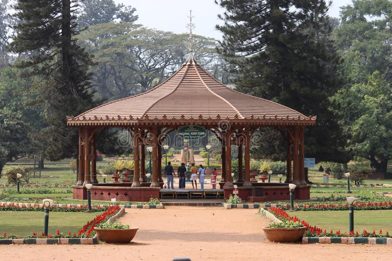 Lalbagh stock image
