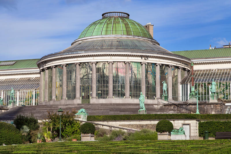 Botanical Garden of Brussels stock photography