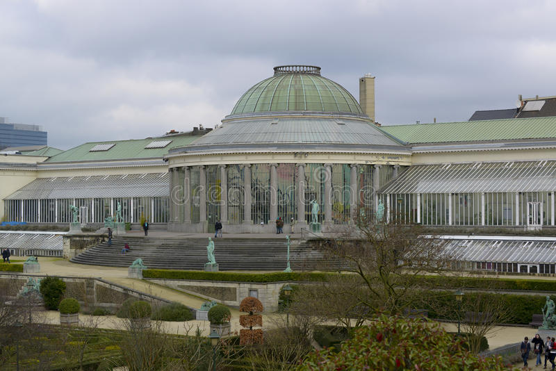 Botanical garden brussels royalty free stock photography