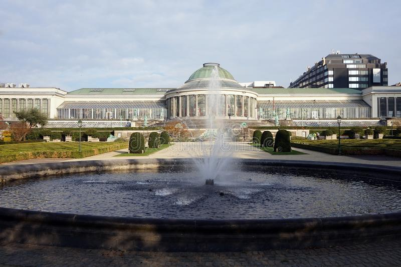 The Botanical Garden of Brussels royalty free stock image