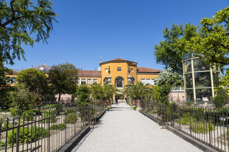 Botanical garden in Padua, the oldest in the world royalty free stock photos