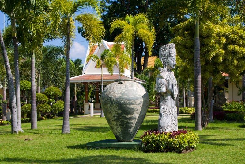 Botanical garden. Thailand. Magnificent tranquil landscape. Botanical Garden. Thailand royalty free stock photos