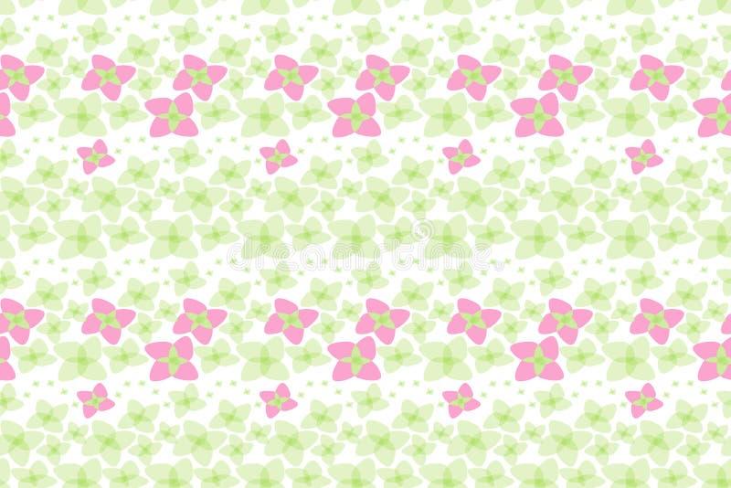 Botanical Motifs seamless vector texture. Little flowers vector illustration