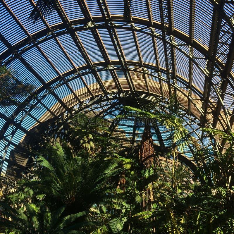 Botanical urban garden stock photography
