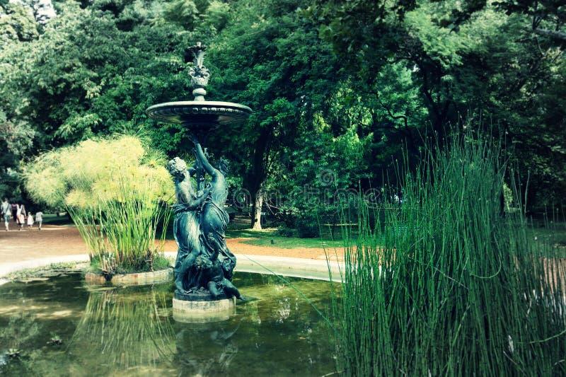 Botanico Carlos Thays de Jardin imagens de stock