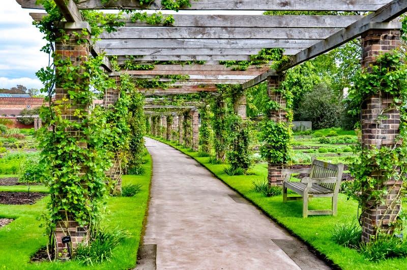 Botanische Gärten Kew, London, Großbritannien stockbilder
