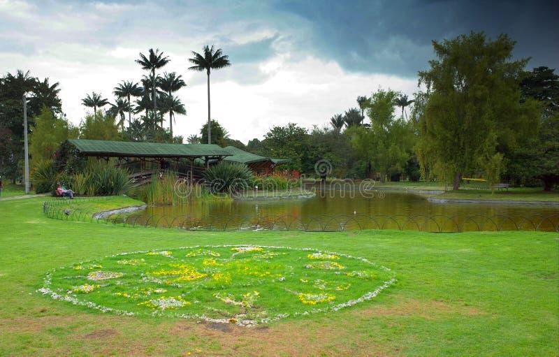 Botanische Gärten, Bogota lizenzfreie stockbilder