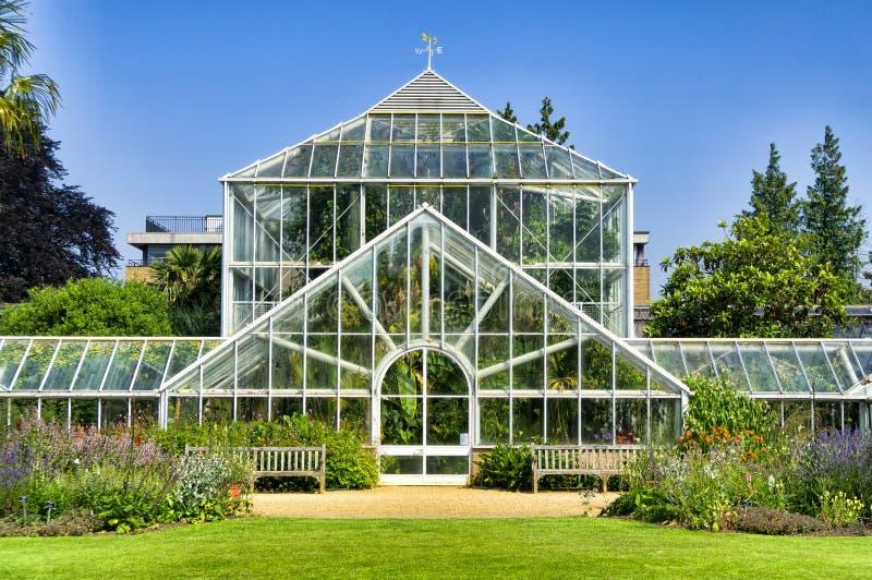 Botanische tuin, Serre stock afbeelding
