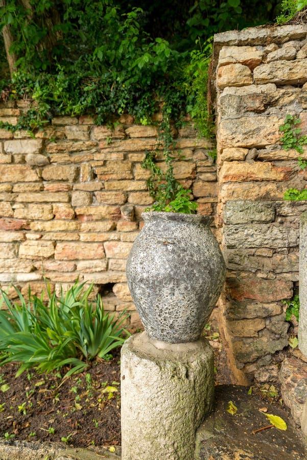 Botanischer Garten an Balchik-Palast lizenzfreie stockbilder
