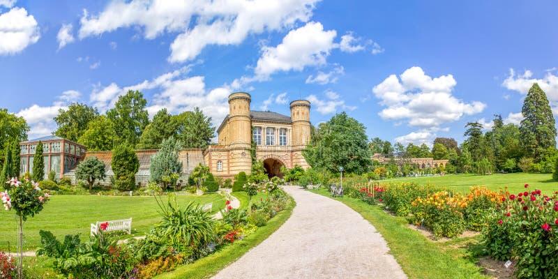 Botanischer Garten, Karlsruhe stockfotografie