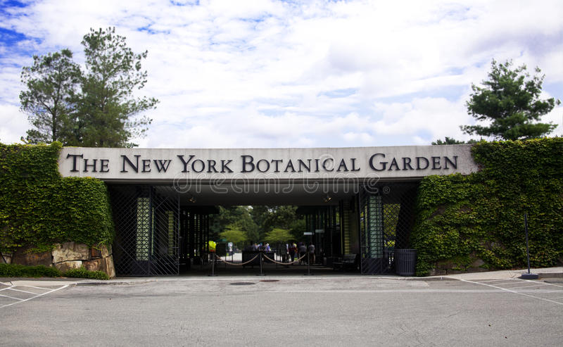 Botanischer Garten New York stockfotos