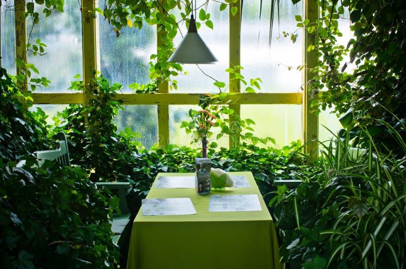 Botanischer Garten in Walbrzych, Polen lizenzfreie stockbilder