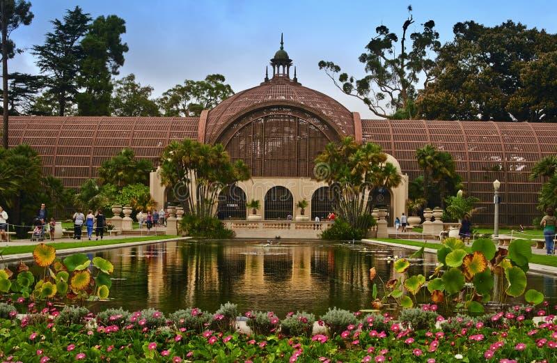 Botanisches Gebäude, Balboa-Park stockfoto