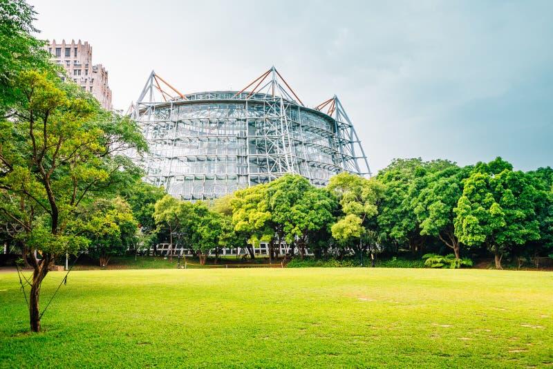 Botanisk trädgård av det nationella museet av naturvetenskap i Taichung, Taiwan royaltyfria foton