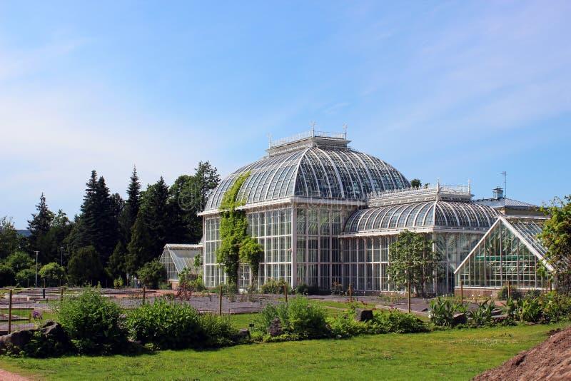 Botanisk trädgård av universitetet av Helsingfors royaltyfria foton