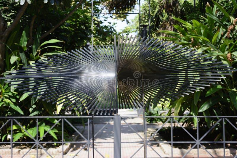 Botanisk trädgård av Valencia arkivfoton