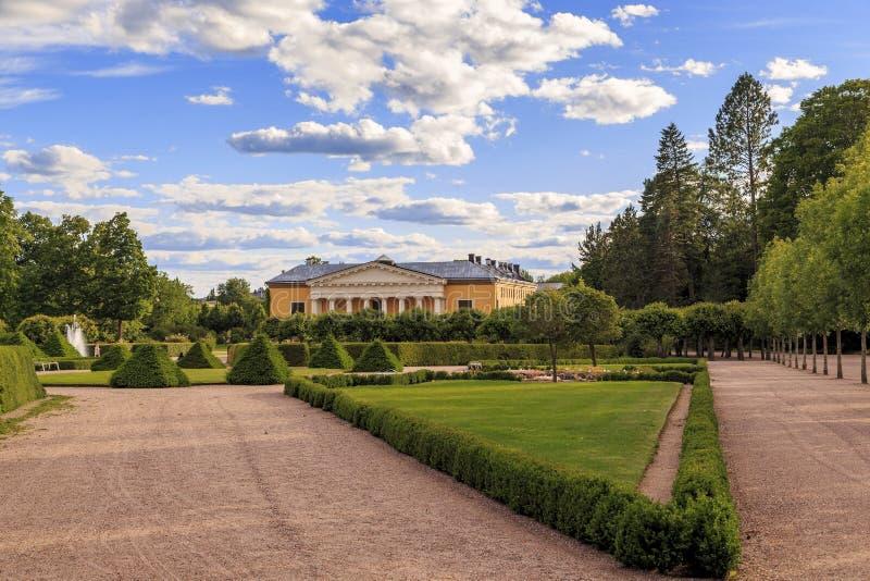 Botanisk trädgård Uppsala, Sverige royaltyfria foton