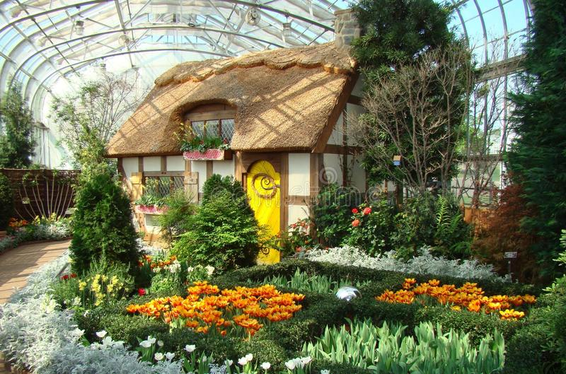 botanisk trädgårdginter lewis arkivfoto
