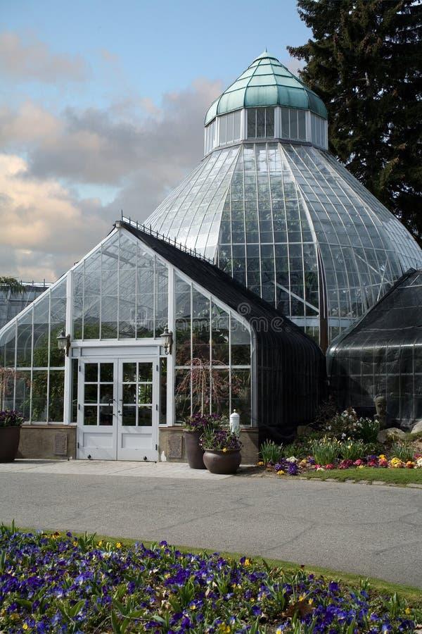 botaniskt växthus royaltyfria foton